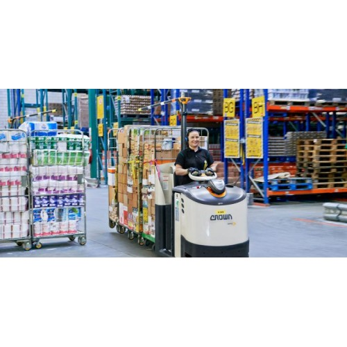 Employee in a Logistic center JUMBO in NETHERLANDS