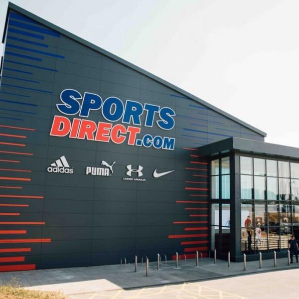 Sport Direct warehouse