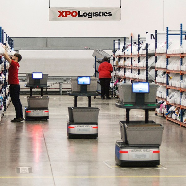 Employee in a Logistic Center XPO NETHERLANDS