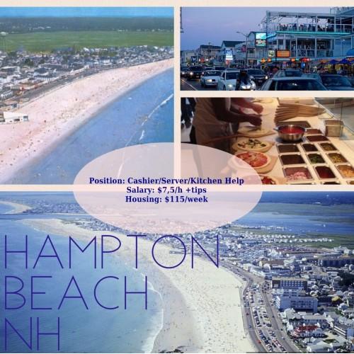 Hampton Beach/Cashier, Server, Kitchen help