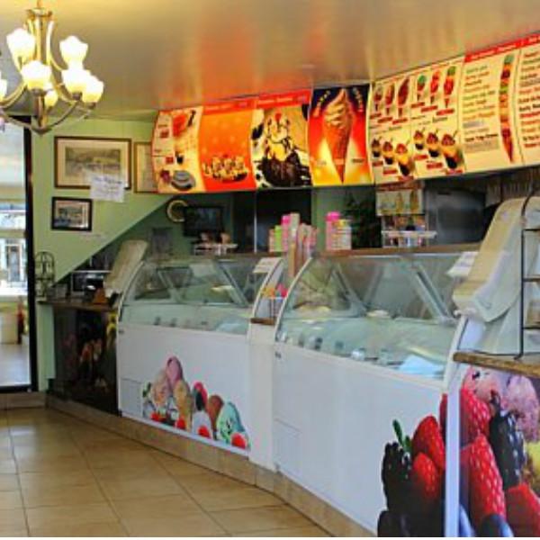ice cream sales person