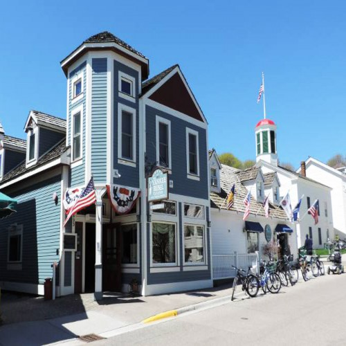 Mackinac Island/ Host, dishwasher